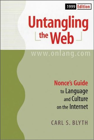 Untangling the Web: Nonce's Guide to Language & Culture on the Internet