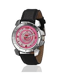 Yepme Flome Mens Watch - Pink/Black -- YPMWATCH1888