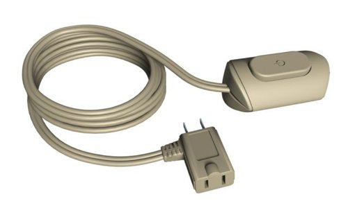 Stanley 31324 10-Foot Extension Cord with On/Off Switch, Beige