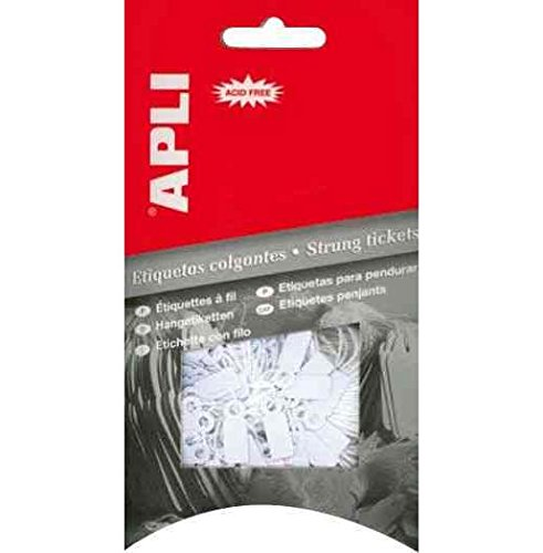 AGIPA paquet de 200 étiquettes bijouterie, dimensions 13 x 20 mm