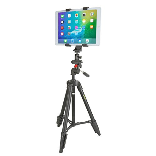 Tablet-Stand-iKross-47-inch-Digital-Camera-Tripod-with-4-Adapter-For-Smartphone-Gopro-Tablet-DSLR-Camera-and-Carrying-Bag