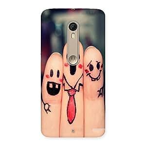 Ajay Enterprises Wo 3 Best Friends Back Case Cover for Motorola Moto X Style