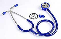MCP Classic II Stethoscope Adult Stainless Steel Blue