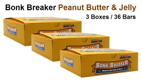 Bonk Breaker Peanut Butter & Jelly 36-Pack )