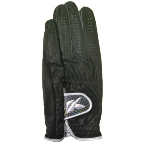 キャスコ(Kasco) シルキーフィット レギュラーサイズ グローブ GF-10251 左手用 ブラック 23cm 4235-601