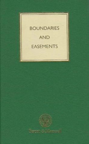 Boundaries and Easements PDF