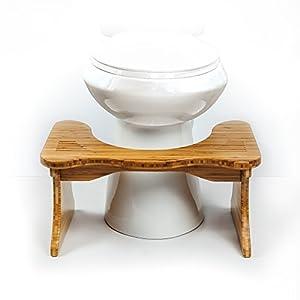 Squatty Potty® Toilet Stool, Tao Bamboo, 9 inch