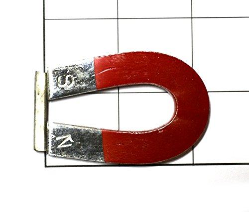 """Horseshoe Magnet - 50 mm- 2 1/4""""x 1 1/2"""" Chrome style"""