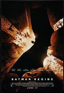 Batman Begins Movie Poster #01 24x36in