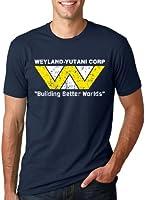 Crazy Dog TShirts - Weyland-Yutani Corp. Building Better Worlds T-Shirt Humour Film Alien - Homme -