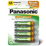 "Panasonic Infinium Akku Mignon/AA Ready to use P6I-AAvon ""Panasonic"""