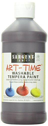 Sargent Art 22-3438 16-Ounce Art Time Washable Tempera, Magenta