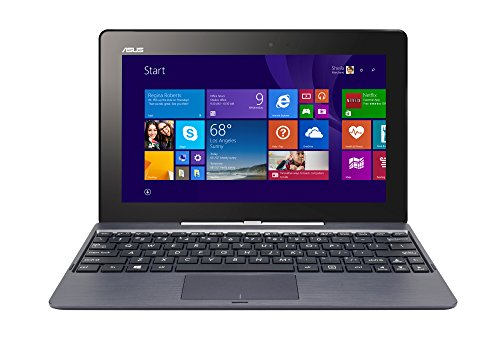 ASUS Transformer (T100TAF-B12-GR) 2-in-1 10.1 Inch Touchscreen Display Laptop/Tablet Combo (Certified Refurbished)