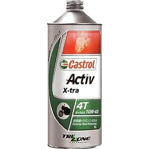 【クリックで詳細表示】Amazon.co.jp | CASTROL [ カストロール ] ACTIV 4T [ アクティブ ] 10W40 [ MA ] 部分合成油 [ 20L ] | 車&バイク
