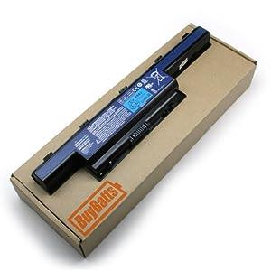 BuyBatts Battery Fits Acer Aspire 5250-E354G32MNKK, 5252-V419, 5253-BZ400, 5253-BZ481, 5253-BZ848, 7750-6433, 7750-6479, 7750-6600, E1-531-10004G50MNKS, E1-531-2438, E1-531-2686, E1-531-B9604G75MNKS, E1-571-32324G50MNKS, E1-571-53236G50MNKS, E1-571-6446, E1-571-6496 Notebook Laptop Portable Computer