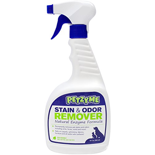 Dog Smell Of Rug: Petzyme Pet Stain Remover & Odor Eliminator, Enzyme