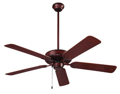 NuTone CFO52WB Energy Star Qualified Dual Blades Outdoor Ceiling Fan, 52-Inch, Weathered Bronze (Weathered Ceiling Fan Blades compare prices)