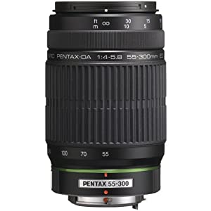 Pentax Imaging 21720 55-300mm Telephoto Zoom Lens