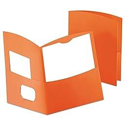 Oxford Contour Twin-Pocket Folders