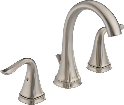 Delta 35705LF-SS Celice Two Handle Widespread Lavatory Faucet, Stainless