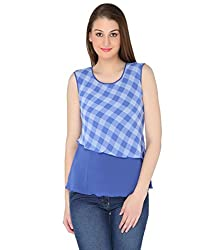 Fashion Tadka West BLUE Casual Top For Women