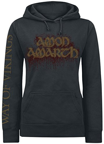 Amon Amarth Way Of Vikings Felpa donna nero XL