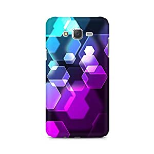 Mobicture Hexa Colours Premium Printed Case For Samsung J1 2016 Version