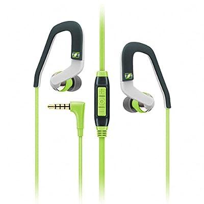 Sennheiser OCX 686i Sports In-Ear Headphones - Green / Grey