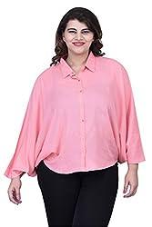 Pastel Pink Ponchu Top