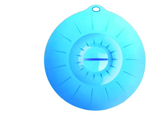 Silicone Zone 140048 Couvercle Silicone Bleu 32 cm