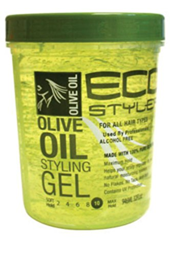 Eco Styler Styling Gel 32 oz. Olive Oil (3-Pack) with Free Nail File (Eco Styler Olive Oil compare prices)
