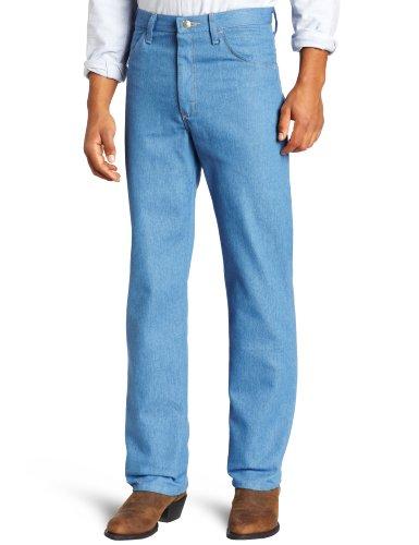 Wrangler Men's Rugged Wear Stretch Jean,Light Blue,38x30 (Jeans Blue Light For Men compare prices)