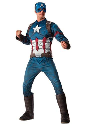 Rubie's Men's Avengers 2 Age Of Ultron Adult Captain America, Multi, X-Large