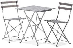 Strathwood Basics Bistro Set, Gray