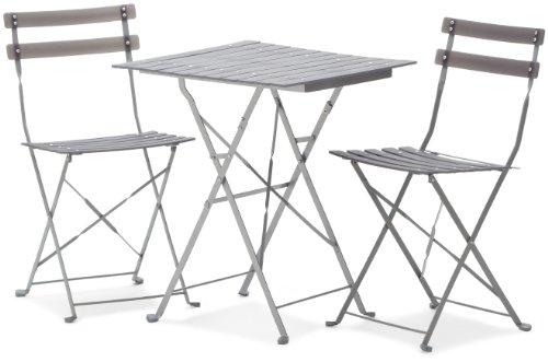 Strathwood Basics Bistro Set Gray