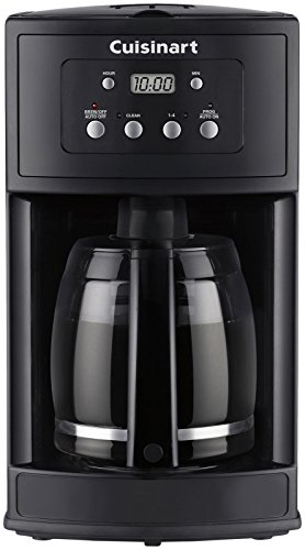 Cuisinart DCC-500 12-Cup Programmable Coffeemaker, Black DISCONTINUED BY MANUFACTURER