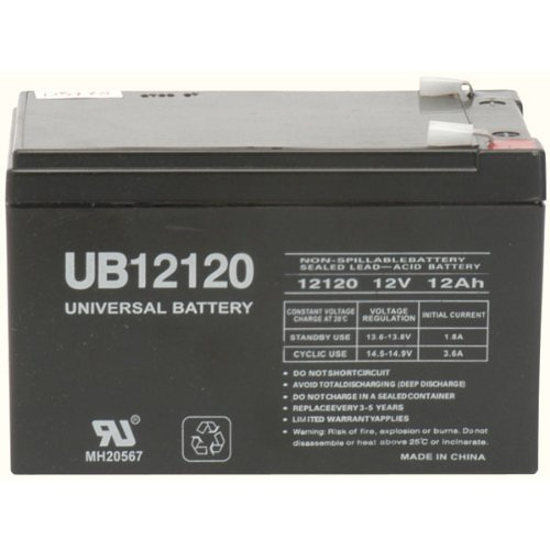 UPGRADE 12V 12Ah F2 Battery for Peg Perego DJW12-12 DMU12-12 w/ WARRANTY!