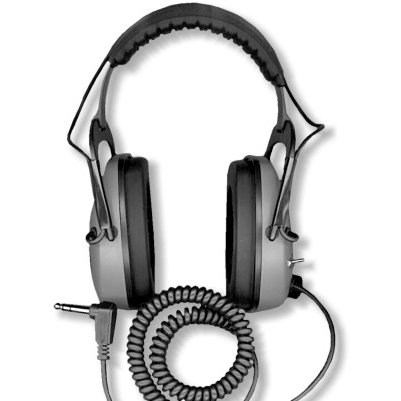Detectorpro Gray Ghost Headphones