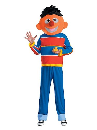 Disguise Men's Ernie Adult Costume