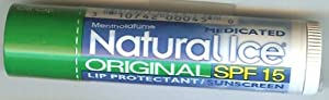Natural Ice SPF15 Original Lip Balm 3 Pack