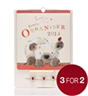Bear & Bird 2014 Family Organiser
