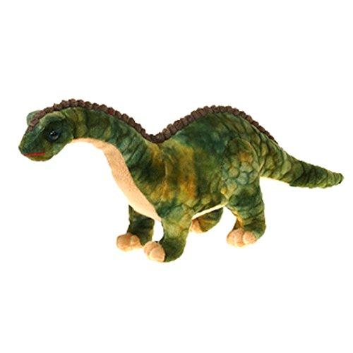 "Brachiosaurus Dinosaur Plush Stuffed Animal Toy by Fiesta Toys - 14"""