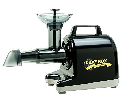 Champion Household Juicer 4000 Masticating Juicer (Black) (Champion 2000+ Juicer compare prices)