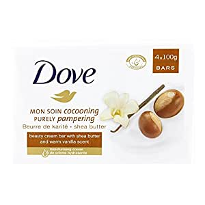 Dove Purely Pampering Shea Butter Beauty Bar - 4 x 100 g