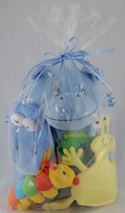 Imagen de Juguetes para bebés de baño - Hippo Gift Set