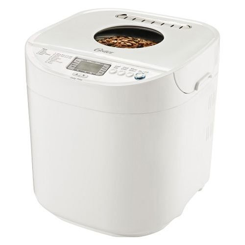 Review Oster CKSTBRTW20 2-Pound Expressbake Breadmaker, White