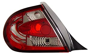 Dodge Neon 03-05 Tail Lamps / Lights Red/Clear Euro Performance