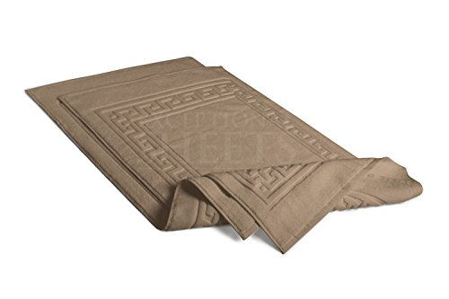 Superior Bath Rugs Egyptian Cotton 2 Piece Bath Mat Set Taupe Ebay