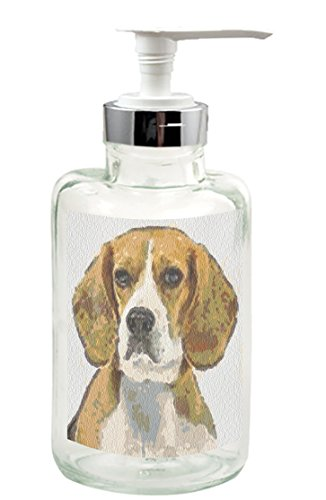 Beagle - Hopper- Glass Lotion Dispenser By Doggylips (Snoopy Soap Dispenser compare prices)