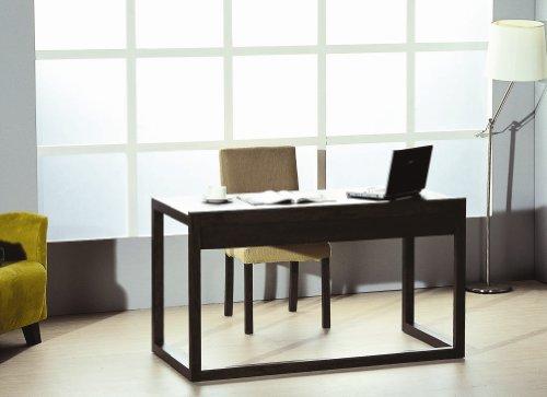 Bh Design Parson Office Desk With Drawer, Wenge
